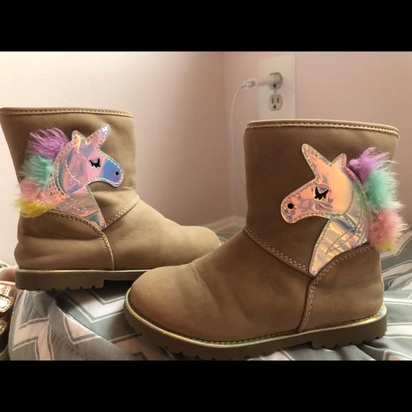 Girls Unicorn Boots | Poshmark